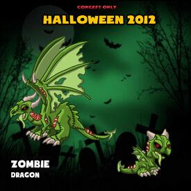 Zombie Dragon Concept