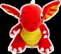 DragonValePlushToy-FireDragon-Front