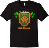 DragonValeT-Shirt-House-of-the-Iron-Blossom-Black