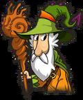 Wizard Green Hat