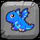BlueFireDragonBabyButton