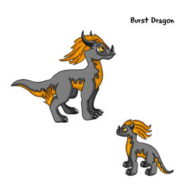 Burst Dragon