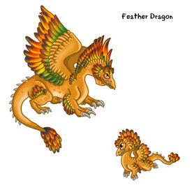 Feather Dragon