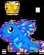 BlueFireDragonBabyCrown