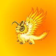 Sun Dragon Render awesome