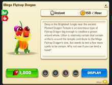 Mega-flytrap