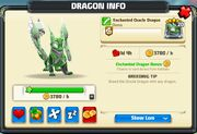 Dragon Enchanted Oracle Adult Info