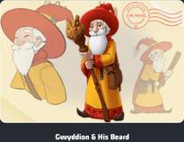 Gwyddion & His Beard