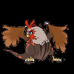 Chicken sprite4 at