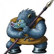 Orc King Monster Art