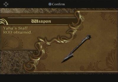 Yaha-staff