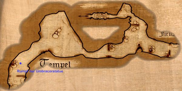Rumpf der Umbracorstatue Map