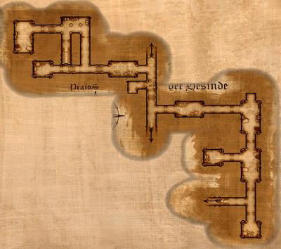 Tempel der Hesinde Map Bibliothek