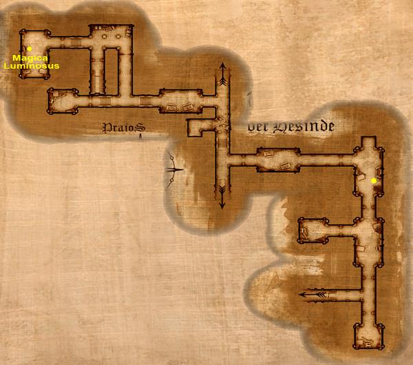 Magica Luminosus Map