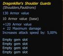 Drachentöter Schulterschutz