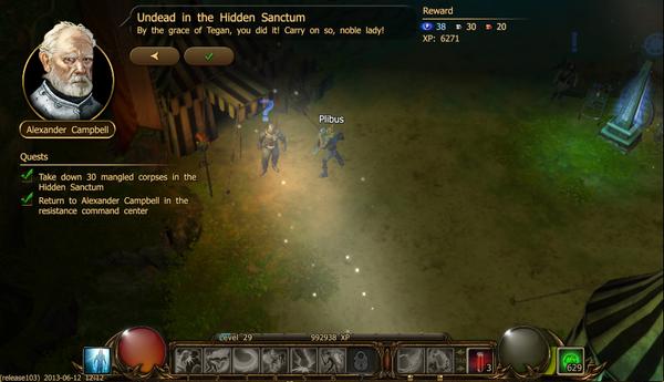 Undead in the hidden sanctum a