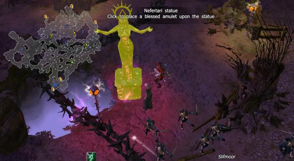 Nefertari statue bless