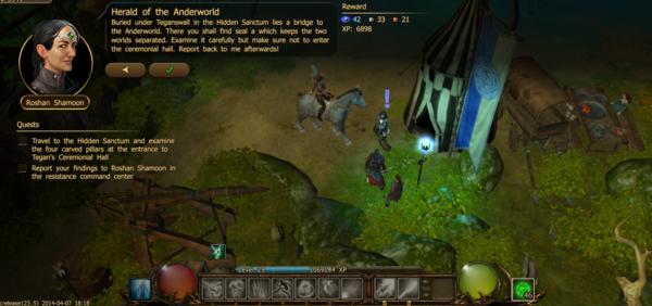 Herald of the anderworld 2.1