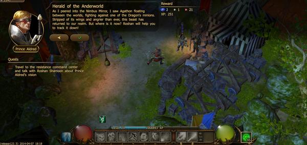Herald of the anderworld 1.1