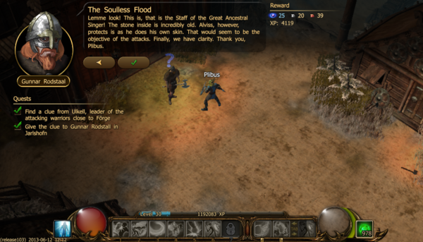 The soulless flood c