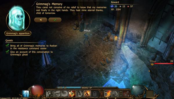 Grimmag's memory c
