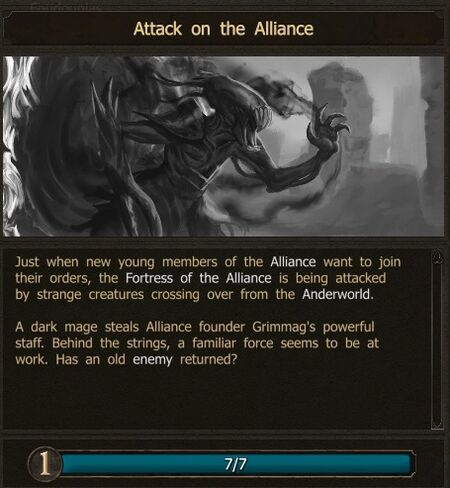 Attack on the Alliance
