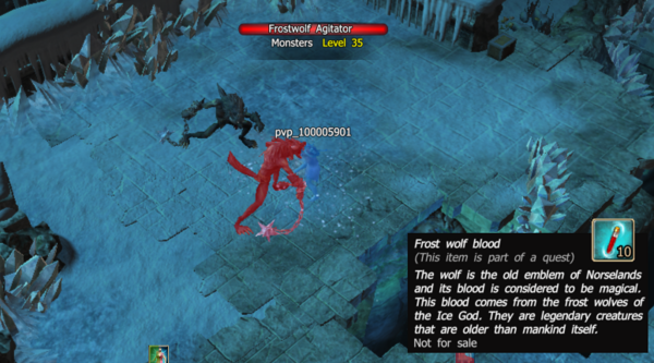 Frost wolf blood 1