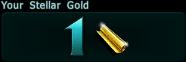 Stellar gold count