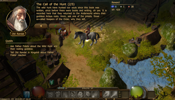 The call of the hunt 2.1a
