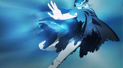 Ren-caped-human-form