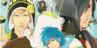 DRAMAtical Murder 4koma Anthology