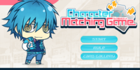 Character Matching Game