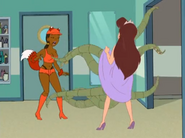 Clara reveals her Octopussior