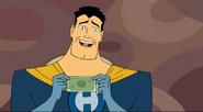 Captain Hero winds fifty dollars