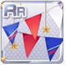 Tricolore Flag Laurel