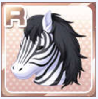 Classic Zebra Head