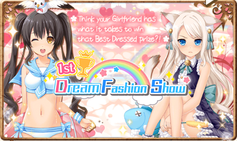 1st Dream Fashion Event Banner