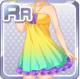 Rainbow Drink Promo Girl Multi
