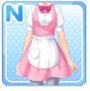 Regular Waitress Pink
