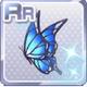 Butterfly Hair Acc Blue