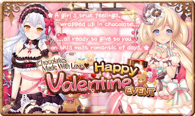 Happy Valentine Event