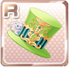 Pied Piper's Hat Green