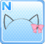 Cat-Ear Wire Band Pink