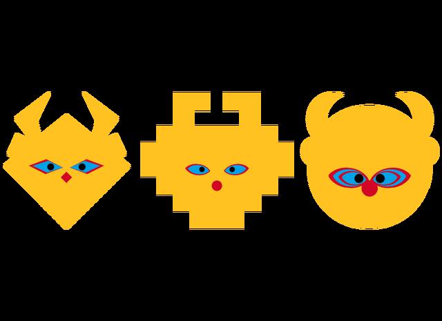 File:LSD Mascot Heads - Sans Logo.png