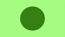 Flag of Minecraftia green