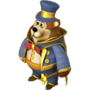 Bear illusionist deco