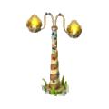 Gingerbread lantern deco