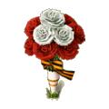 Winner's bouquet deco