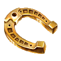 Coll superstitious horseshoe