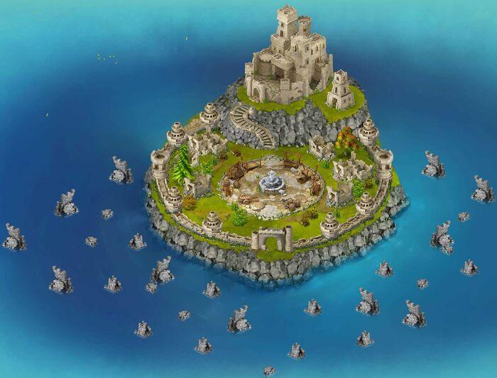 Forgotten kingdom before map